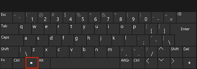 Hit Windows on your keyboard and start typing