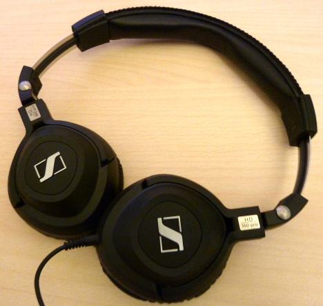 Sennheiser HD 360 Pro, headphones, monitoring, sound, review