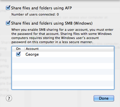 How to Share Folders from Mac OS X with Windows Computers