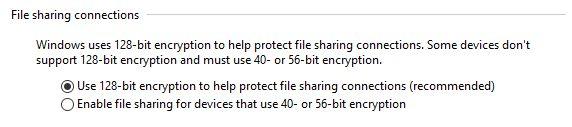 Windows, sharing, settings, network