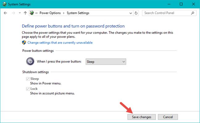 Windows, shut down, power, button, action