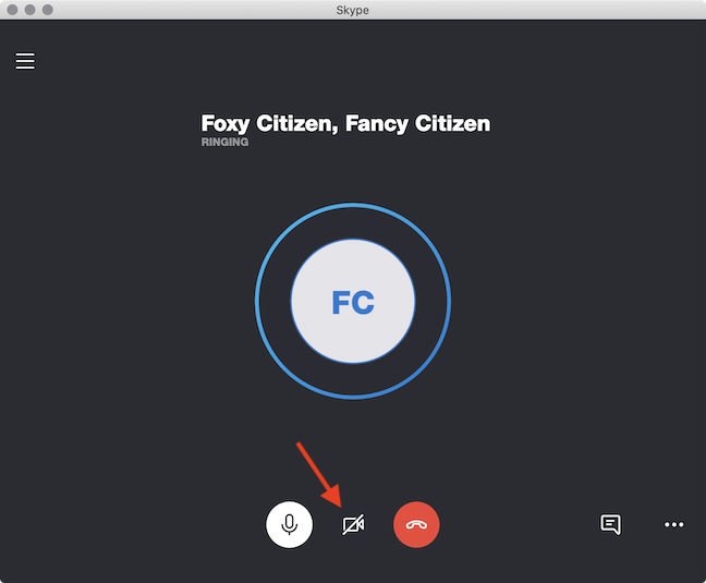 Add video to your Skype call