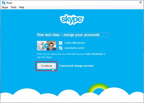 Microsoft, Skype, Windows, app, how to, link, account, settings