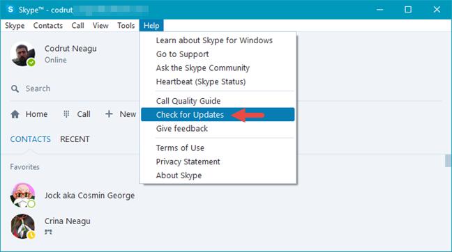 Skype, video, settings, webcam