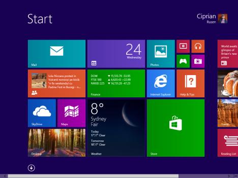 Windows 8.1, Start Menu, alternative, Start Screen, Desktop