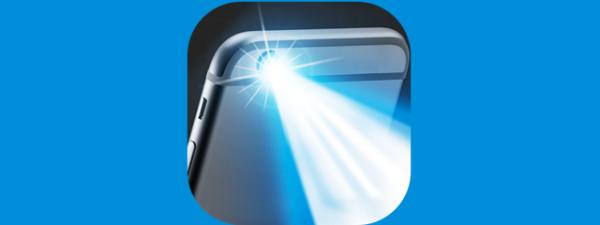 Smartphone flashlight