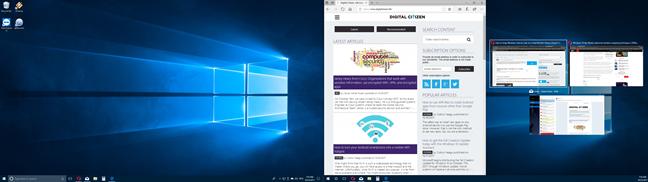 Windows, snap, apps, side by side