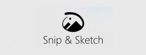 Snip & Sketch