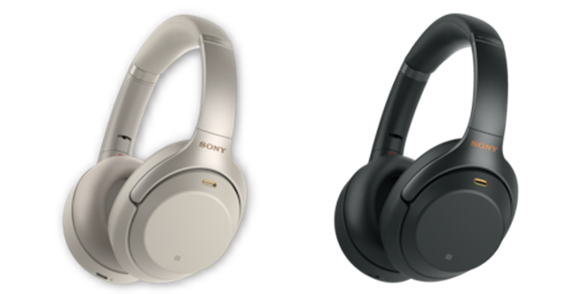 The color versions available for Sony WH-1000XM3