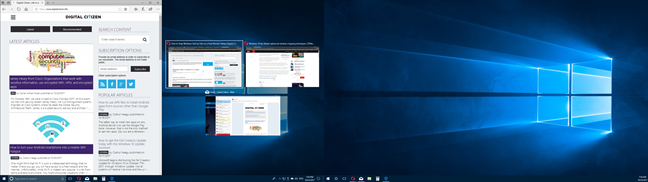 Usar pantalla dividida con varios monitores