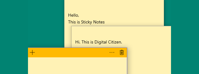 How To Sync Windows 10 Sticky Notes With Your Android Or Iphone Digital Citizen