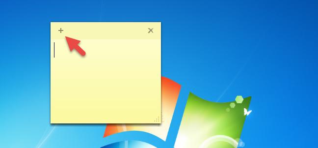Sticky Notes, Windows 7, Windows 8.1