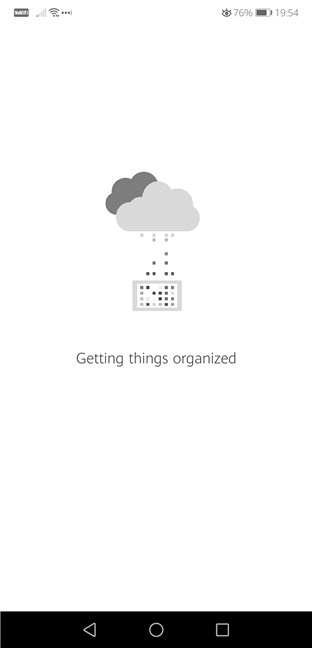 OneNote is getting things organized
