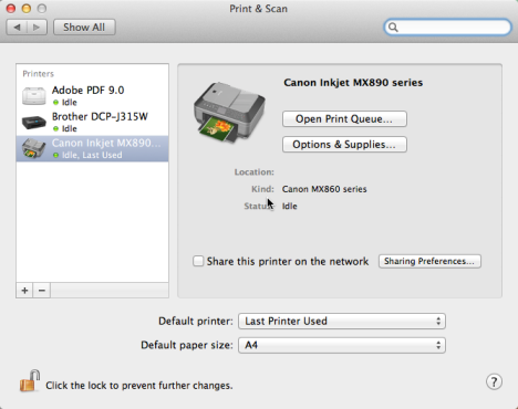 How to Install a Windows 7 or 8 Shared Printer in Mac OS X
