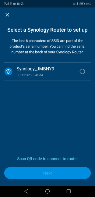 Configuring the Synology MR2200ac in the DS Router app