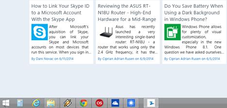 taskbar, apps, Windows 8.1, pin, display, unpin