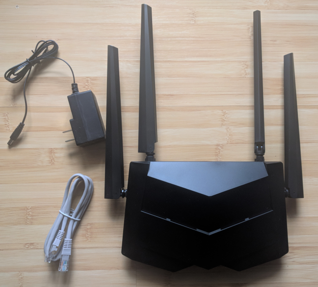 Tenda AC10, AC1200, wireless, router