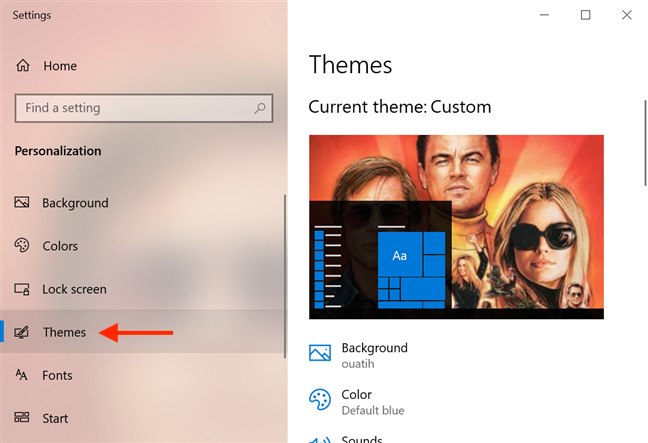 Access Themes