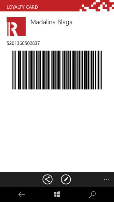 apps, qr, code, barcode, scanner, Windows 10 Mobile