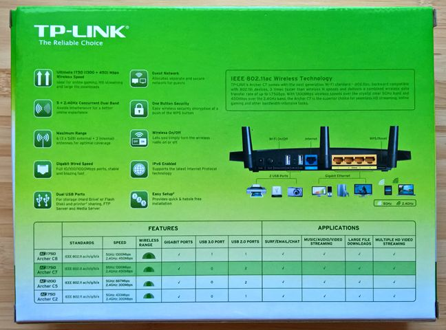 TP-LINK, Archer C7, AC1750, wireless, dual band, Gigabit, router, review