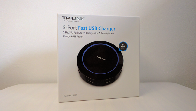 TP-Link UP525, 25W 5-Port, Fast USB Charger