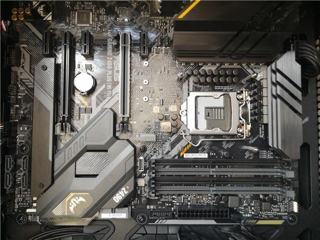 The ASUS TUF GAMING Z490-PLUS (WI-FI) motherboard