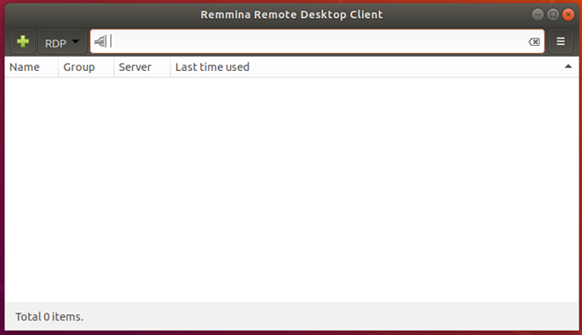 The Remmina Remote Desktop Client