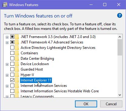 Internet Explorer, remove, IE, uninstall