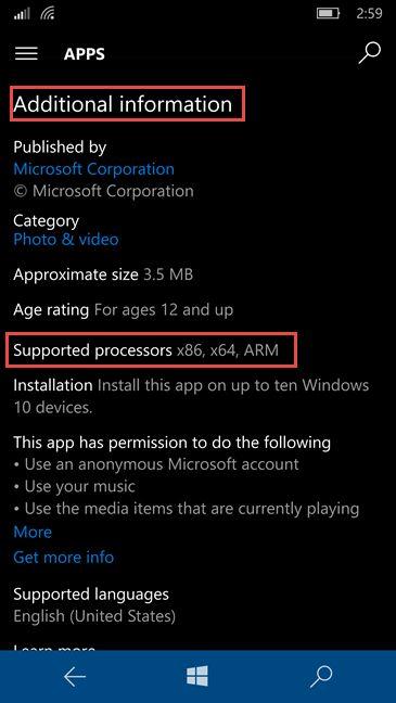 Universal Windows Platform, UWP, apps, Windows 10, Store, characteristics