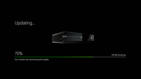 Xbox One, update, console