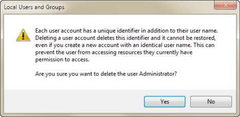 Local Users and Groups, accounts, Windows