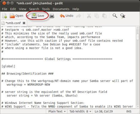 Ubuntu WorkGroup