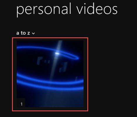 Video, app, Windows 8.1, movies, local, library, play, organize