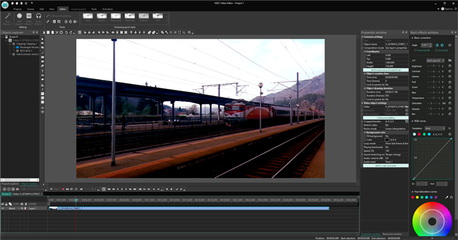 VSDC Free Video Editor: un reemplazo de Windows Movie Maker
