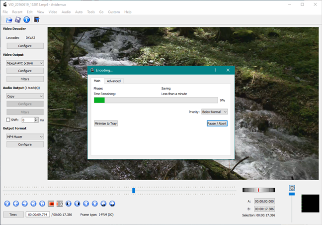 Avidemux: un reemplazo de Windows Movie Maker