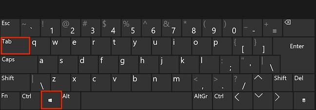 Access virtual desktops with a keyboard shortcut