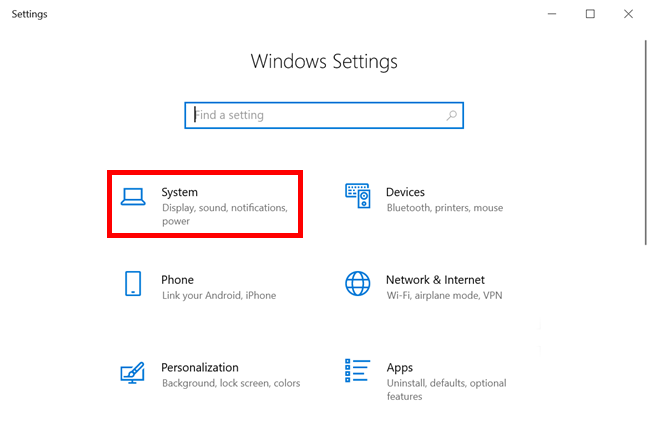 Access System Settings