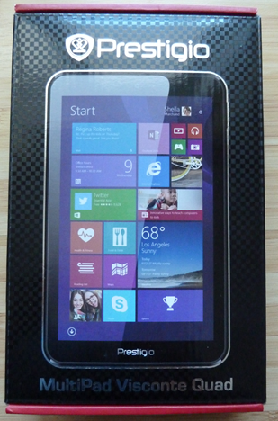 Prestigio, MultiPad, Visconte Quad, review, test, benchmark, performance, Windows