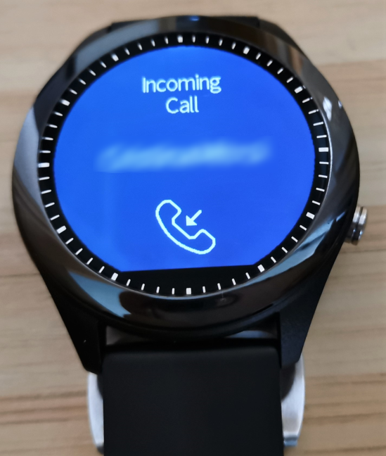 Notifications displayed by ASUS VivoWatch SP
