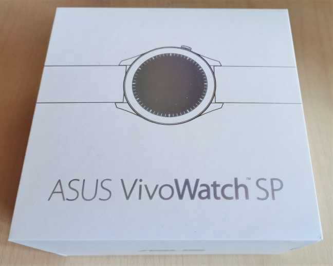 The box used for ASUS VivoWatch SP (HC-A05)