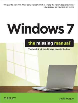 Windows 7, the missing manual
