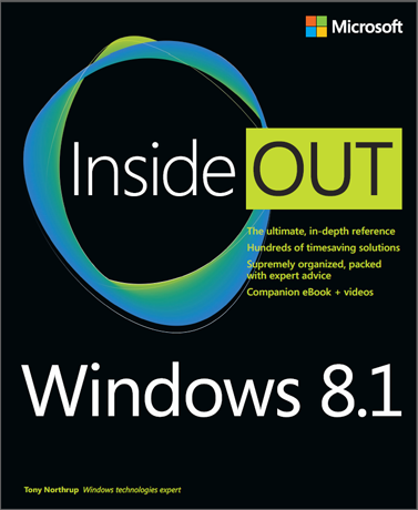 Book Review, Windows 8.1 Inside Out, Tony Northrup
