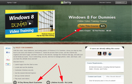 Windows 8 For Dummies Online Video Training Course - Review