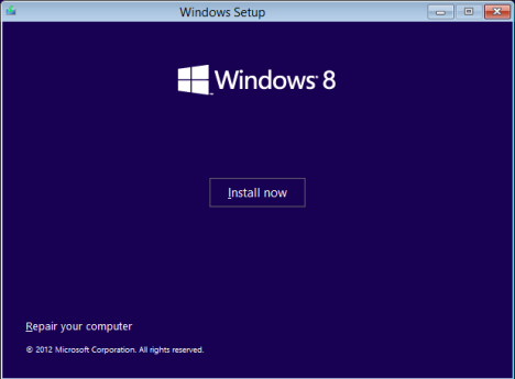 How to restore Windows 8 to its initial state