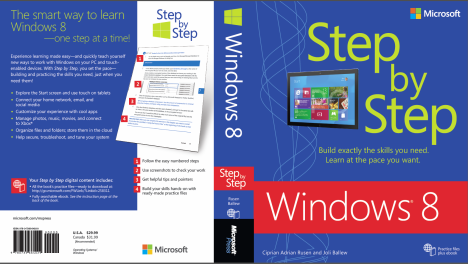 Windows 8 Step by Step - the Best Windows 8 Book