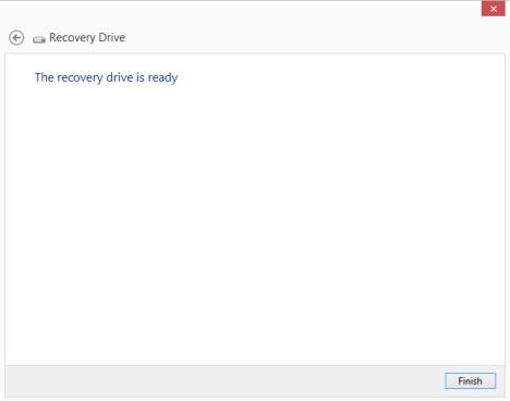 System Recovery, USB Memory Stick, Flash Drive, Recovery Media Creator, Windows 8, Windows 8.1
