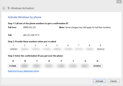 Windows 8 - Product Key is not valid