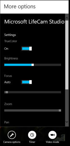 Windows 8 - How to use the Camera app
