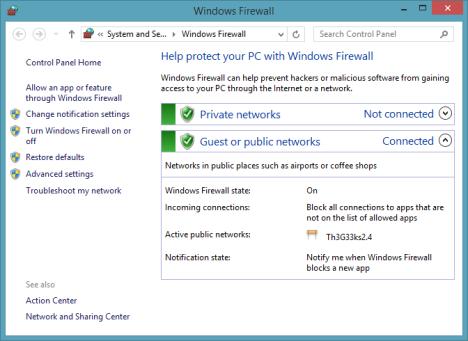 Windows Firewall, Best, Firewall