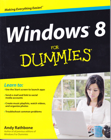 Book Review - Windows 8 for Dummies